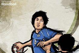 T84-027  ]  Balonmano Handball Handbal,  China Pre-stamped Card,postal Stationery - Handball
