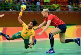 T84-034  ]  Balonmano Handball Handbal,  China Pre-stamped Card,postal Stationery - Handball