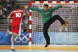 T84-041  ]  Balonmano Handball Handbal,  China Pre-stamped Card,postal Stationery - Handball