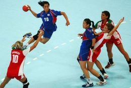 T84-047  ]  Balonmano Handball Handbal,  China Pre-stamped Card,postal Stationery - Handball