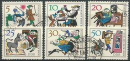 DDR 1966 Mi-Nr. 1236/41 O Used - DDR