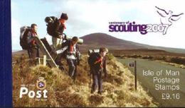 Isla De Man 2007, Libro Centenario Scouts (MNH) / CF5037 - Isla De Man