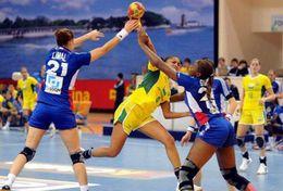 T84-052  ]  Balonmano Handball Handbal,  China Pre-stamped Card,postal Stationery - Handball