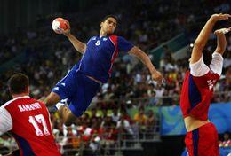 T84-063  ]  Balonmano Handball Handbal,  China Pre-stamped Card,postal Stationery - Handball
