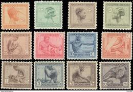 "Congo 0106/17** Métiers Et Industries "" Vloors-type"" - MNH - - 1923-44: Neufs"