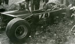 Belgique Spa Francorchamps Circuit Course Automobile Accident Ancienne Photo 1960's - Sports