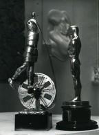 France Paris Sculpteur Cesar Premiere Recompense Cinema Cesars Ancienne Photo Serge Lido 1976 - Objects