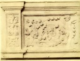 France Landes Chateau De Paguy Ornementation Architecture Ancienne Photo 1880 - Photographs