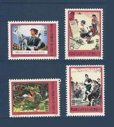 Chine China Cina 1975 Yvert 1972/1975 ** Mouvement Pour La Critique De Lin Piao Et Confucius Ref T8. Superbes - 1949 - ... People's Republic