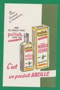 Buvard -  ABEILLE - POLISH CACHET VERT - Blotters