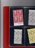 VATICANO 1959-1962 + SMOM 1966-1974 Raccolta Di Quartine Montata Su Fogli E Raccoglitore  NUOVI ** - Vatican