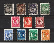 1930 - Roi Charles II  Mi No 375/385 Et Yv No 388/398 - Gebraucht