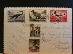 70/321   CP SAN MARIN - Briefmarken