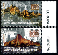 "TURKISH REP. OF NORTHERN CYPRUS/Zypern EUROPA 2017 ""Castles"" Set Of 2v** - 2017"