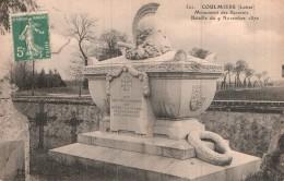 45 COULMIERS MONUMENT DES BAVAROIS - Coulmiers