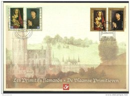 Herdenkingskaart - Carte-souvenir Frankrijk  4085 HK (cob ) Cote  : 10.00 Euro - Cartes Souvenir