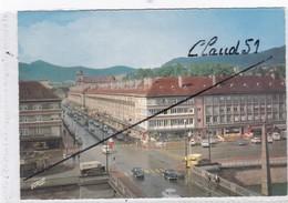 SAINT-DIE (88) Vue Panoramique Sur Le Pont De La Meurthe,la Rue Thiers Et Au Fond,les Hauteurs Des Vosges - Saint Die