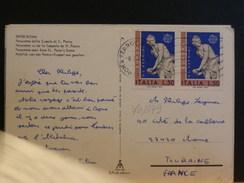 70/379  CP ITALIE  POUR LA BELG. - 6. 1946-.. Repubblica