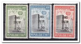 Haïti 1961, Postfris MNH, Malaria - Haïti