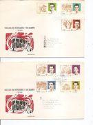 Cuba - 10 Anniversaire De La Révolution ( 2 FDC De 1966 à Voir) - FDC