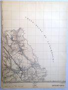 ANCIENNE CARTE MILITAIRE D ETAT MAJOR 68/4 De 1923 ATTERT NOTHOMB PARETTE SCHOCKVILLE GRENDEL POST RODENHOFF S789 - Attert