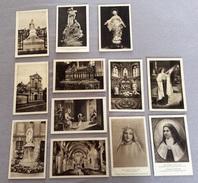 Beau Lot Lisieux Image Pieuse 12 Pieces Ste Therese Devotie - Andachtsbilder