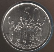 ETHIOPIA 50 Santeem 2000 (2008)  KM# 47.2 Lion Head - Ethiopia