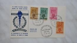 Viêt-Nam FDC Année 1963 - Vietnam