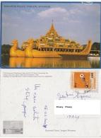 Myanmar Burma Birmania - KARAWEIK PALACE YANGON - Myanmar (Burma)