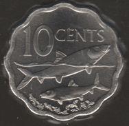 BAHAMAS 10 CENTS 2007 KM# 219 Bonefish ( Albula Vulpes ) - Bahamas