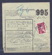 Fragment Met Stempel WAREGEM - 1923-1941