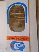 AD023.06 Hungary  GYULA  Turism  Brochure -Czech  Language - Ca 1960-70's - Dépliants Touristiques