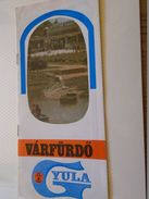 AD023.07 Hungary  GYULA  Turism  Brochure -Slovak ?   Language - Ca 1960-70's - Dépliants Touristiques