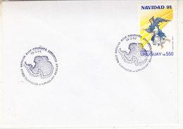 Uruguay 1992 Antarctica / Base Artigas Cover  (36412) - Postzegels