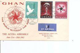 Atome -Bombe Atomique ( FDC Du Ghana De 1962 à Voir) - Electricity