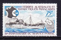 TAAF 1974 25e Ann. Du Service Postal 1v ** Mnh (36417) - Franse Zuidelijke En Antarctische Gebieden (TAAF)