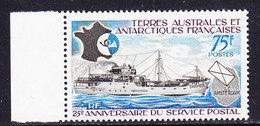 TAAF 1974 25e Ann. Du Service Postal 1v (+margin)  ** Mnh (36417A) - Franse Zuidelijke En Antarctische Gebieden (TAAF)