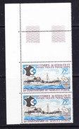 TAAF 1974 25e Ann. Du Service Postal 1v (pair+margin)  ** Mnh (36417B) - Franse Zuidelijke En Antarctische Gebieden (TAAF)