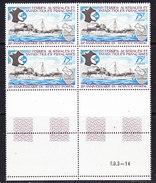 TAAF 1974 25e Ann. Du Service Postal 1v Bl Of 4 (+margin) ** Mnh (36417D) - Franse Zuidelijke En Antarctische Gebieden (TAAF)