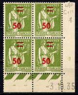 FRANCE - CD480** - TYPE PAIX - 1930-1939