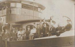 HAMBURG → Aufnahme Nach Einer Hafenfahrt Anno 1922 ►Schiff Unbekannt ◄ - Harburg