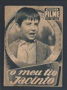 Book Of The Novel Of The Film 'My Uncle Jacinto', Published In 1958.Livro Da Novela Do Filme 'O Meu Tio Jacinto'. 3 Scn. - Cinéma & Théatre