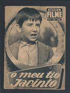 Book Of The Novel Of The Film 'My Uncle Jacinto', Published In 1958.Livro Da Novela Do Filme 'O Meu Tio Jacinto'. 3 Scn. - Cine & Teatro