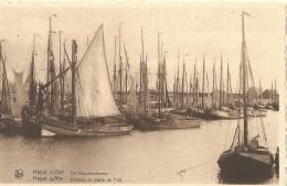 Heist Heyst S/Mer Bateaux De Pêche Au Port - Heist