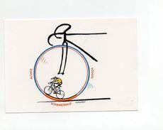CYCLISME TOUR  DE  FRANCE 2005 DANS LES VOSGES   Dessin Original De TOMI UNGERER - Cyclisme