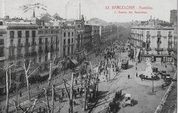 BARCELONA → La Rambla (Promenade) Anno 1925 - Barcelona