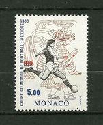MONACO 1986    N° 1528     Coupe DuMonde De Foot Au Mexique  ( Tir Au But Et Art Maya )    NEUF - Blocks & Sheetlets