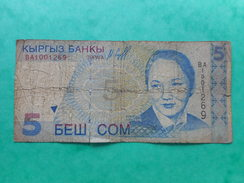 Kirghizistan 5 Som 1997 - Kirghizistan