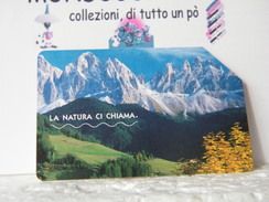 MONDOSORPRESA (LT771) USATA , LA NATURA CI CHIAMA DOLOMITI  C&C N° F3998 - Italia