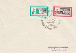 D FDC 956 - 957   100 Jahre Internationales Rotes Kreuz, Berlin W 8 - FDC: Covers
